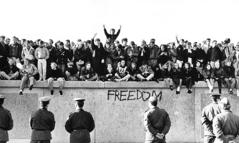 Accidental Freedom: The Fall of the Berlin Wall