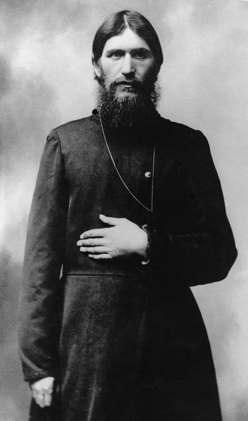 Grigori Rasputin's early days were spent exploring different aspects of religion and spiritualtity