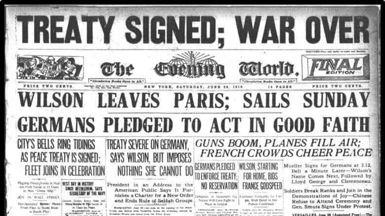 Tough Terms: The Treaty of Versailles 5