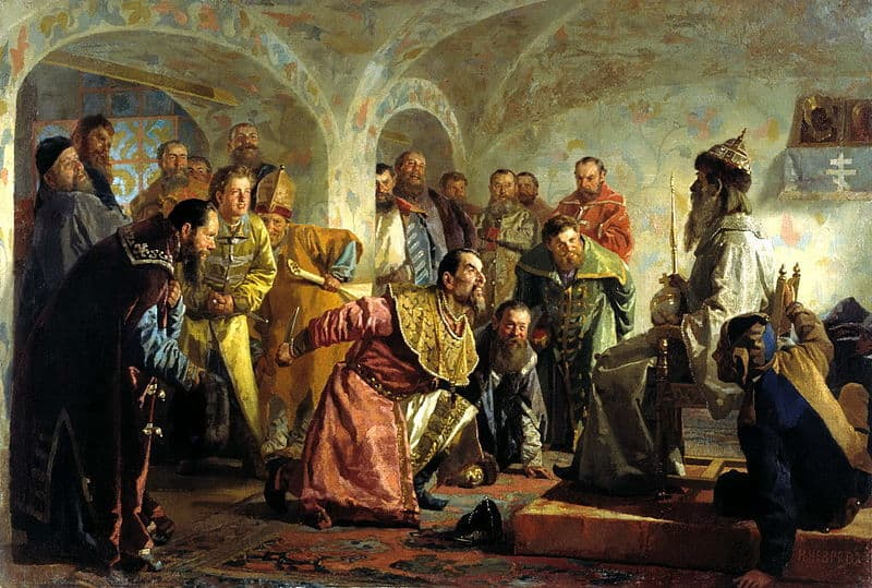 Ivan The Terrible As A Child Paranoid or Proactive?...