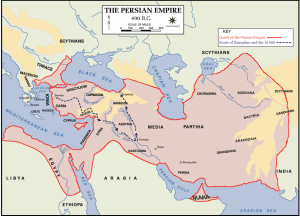 Persian Empire Before the Battle of Thermopylae
