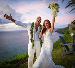 The Rock's Wedding Announcement