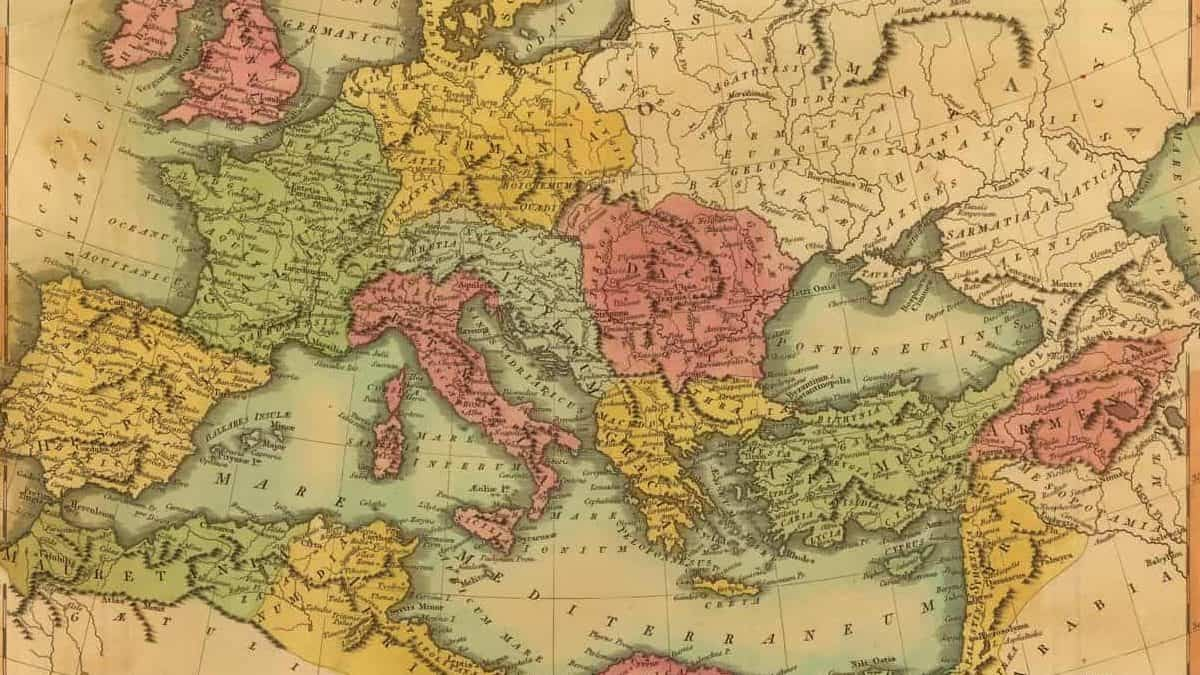 Roman Empire Map 1
