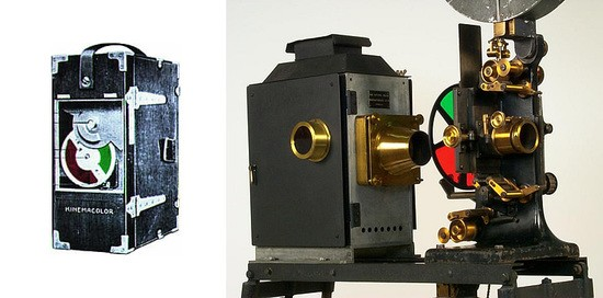 Kinemacolor camera system