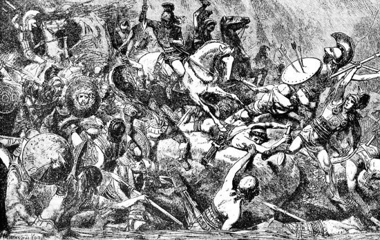 Destruction of the Athenian army in Sicily