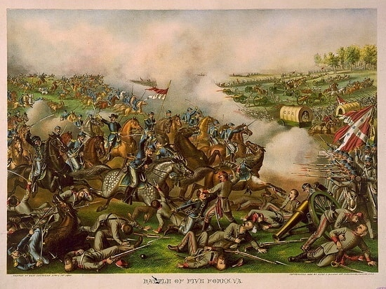 the Battle of Five Forks