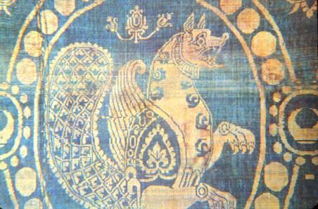 Sassanid era textile
