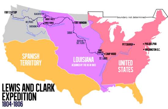 Corps Of Discovery Lewis And Clark Expedition Trail Route