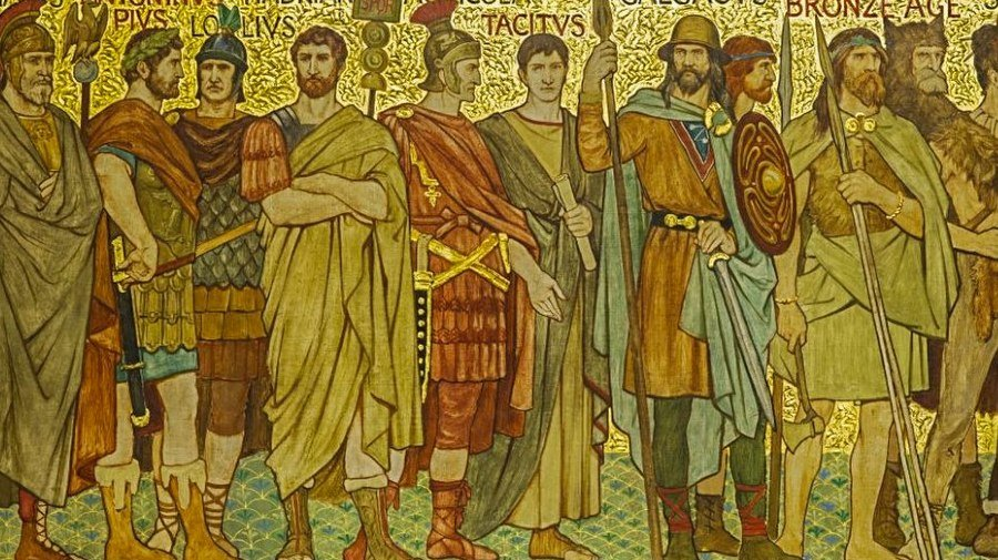 Roman Emporers by William Brassey Hole, 1897
